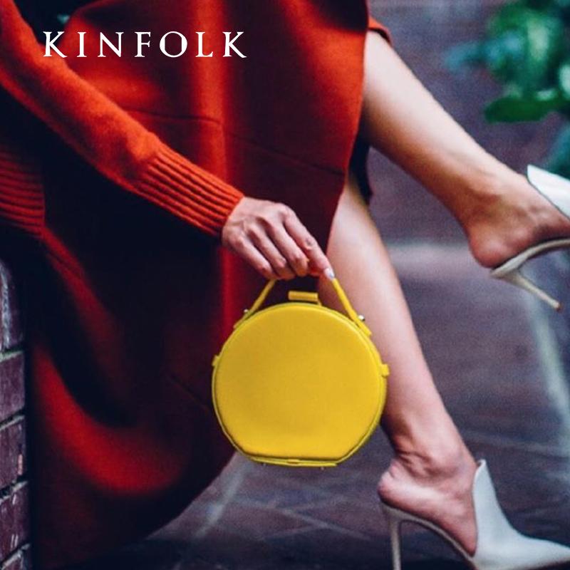 小眾設計師小圓包個性簡約半圓手提包單肩包女包2020新款潮斜挎包