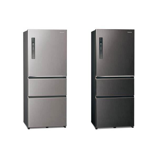 【PANASONIC 國際】610公升 三門變頻無邊框鋼板鋼板冰箱  自動製冰 一級能效 NR-C611XV
