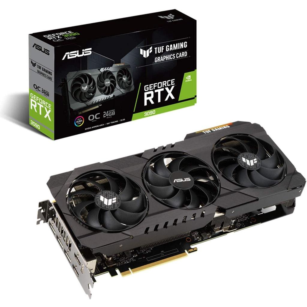 日本直郵華碩NVIDIA GeForce TUF-RTX3090 24G GAMING顯卡