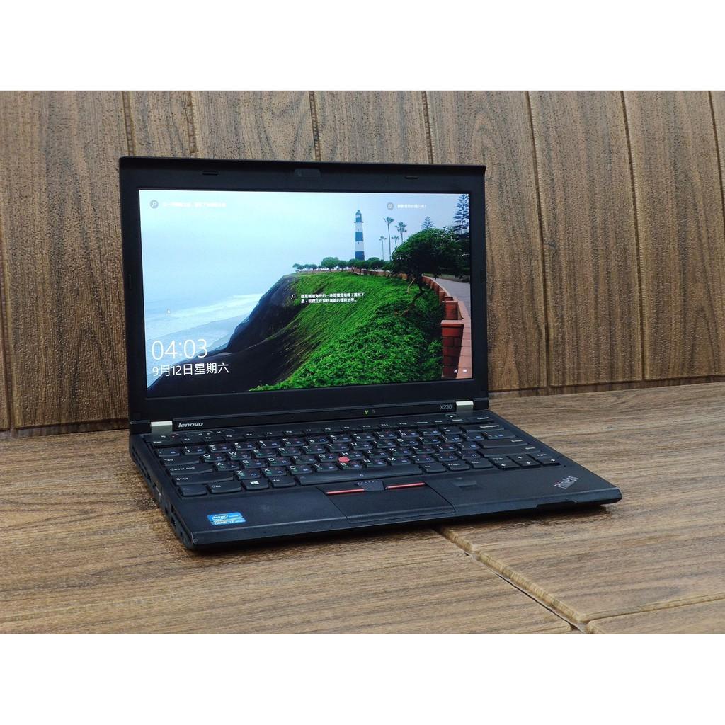 Lenovo 12吋 i7 4G/240G SSD x230 Win10二手 商務筆電 三代CPU便宜ACER HP