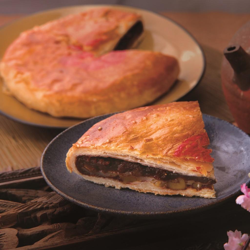 [朝和餅舖] 古早味紅豆麻糬大餅