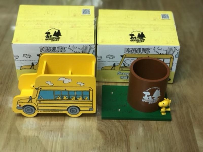 【VIP 666】7-11 最新活動 Snoopy集點送 木頭公仔【史努比 筆筒 全套兩款】