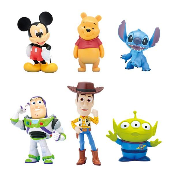 【SEGA】Disney迪士尼 透明球 公仔 米奇 維尼 史迪奇 胡迪 巴斯 三眼怪 玩具總動員 星際寶貝