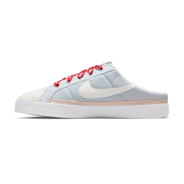 【NIKE】COURT LEGACY MULE 1 休閒鞋 套穿款式 穆勒鞋 舒適 草莓 水藍 女鞋-DJ5058011