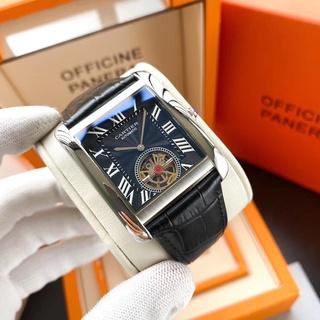 高級復刻高端專櫃代購Cartier卡地亞-Tank MC 系列陀飛輪腕表.卡地亞經典頂級機械出品24小時發貨❂