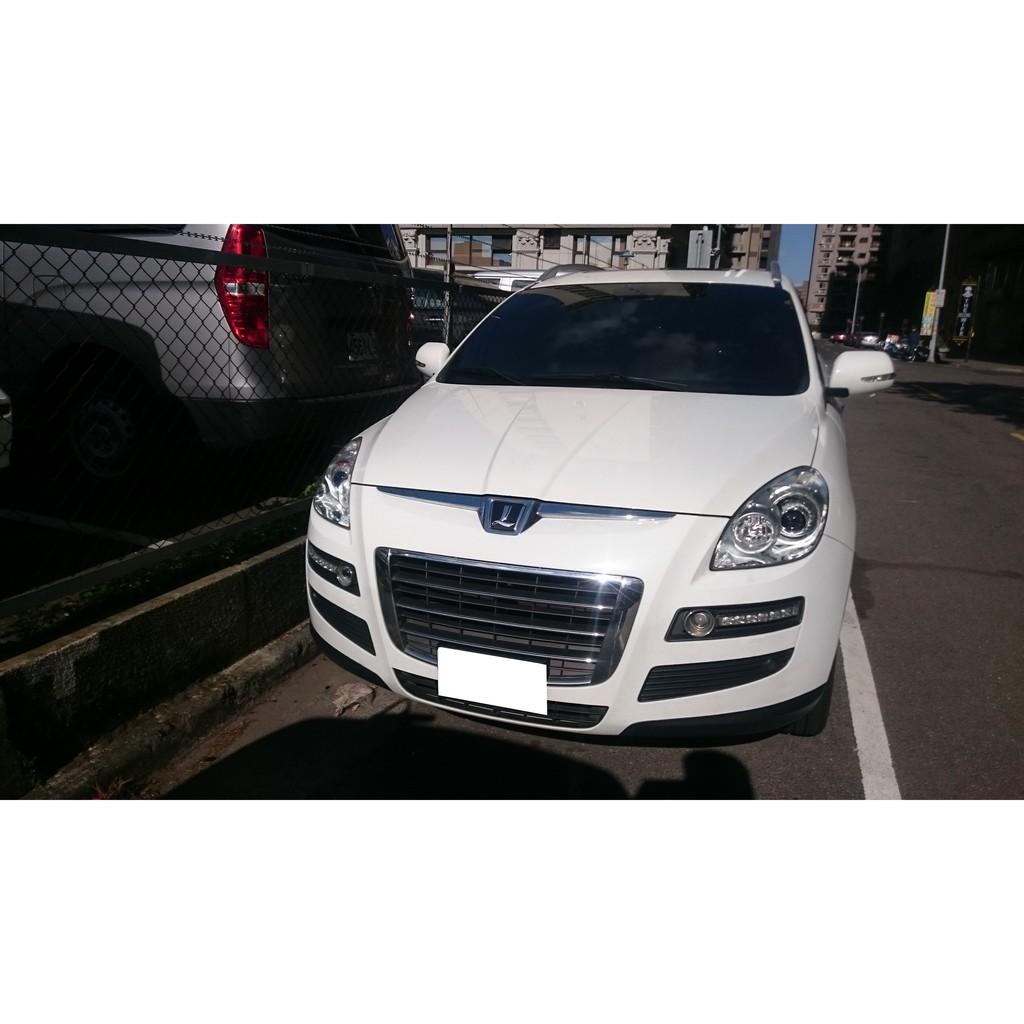 2012 納智捷 LUXGEN U7 Turbo 2.2 白色 SUV 五門 休旅車 五人座 低里程~ 二手車 中古車
