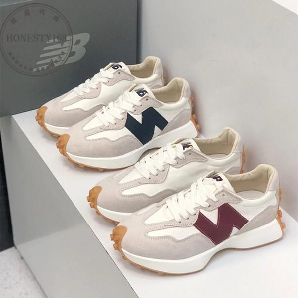 ✨韓國代購 new balance x staud 327 復古 酒紅色  nb327 復古休閒鞋✨