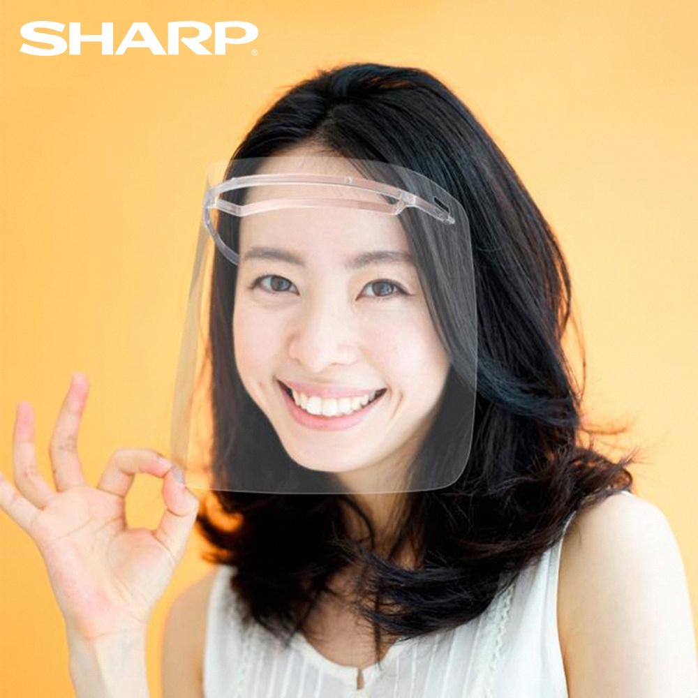 【夏普 SHARP】奈米蛾眼科技防護面罩