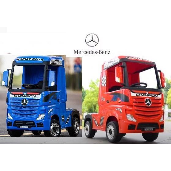 賓士Benz授權烤漆Actros TRUCK四驅童車2.4G遙控卡車貨車聯結車拖車頭兒童電動車貨車HL358