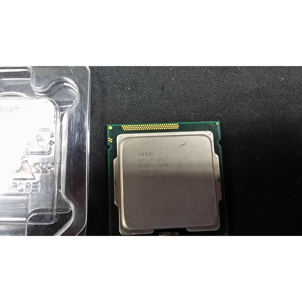 INTEL I5-2500K/超頻版/4C4T/1155 / 良品 $1000