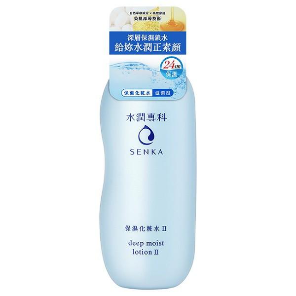 SENKA 水潤專科保濕化粧水-滋潤型(200ml)【康是美】