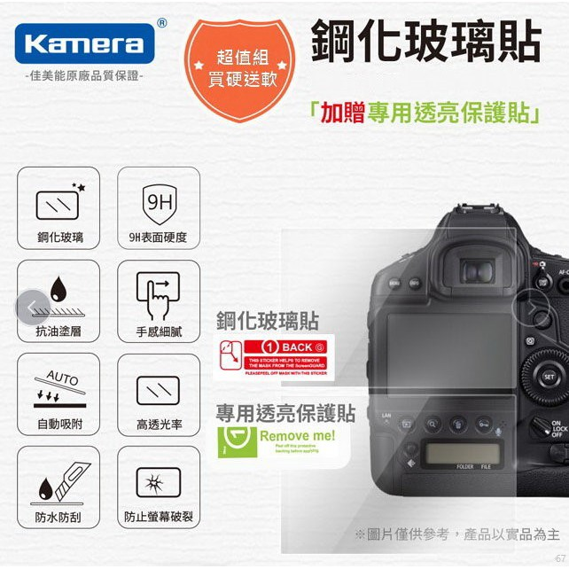 3C叔叔 相機保護貼 適用 索尼 Sony RX100M7  RX100 M7 佳美能 鋼化玻璃貼