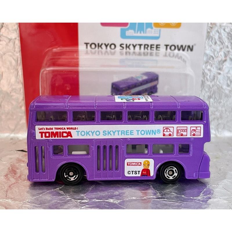 TOMICA 東京晴空塔限定販售 特注 倫敦雙層巴士 LONDON BUS 公車 TOMY