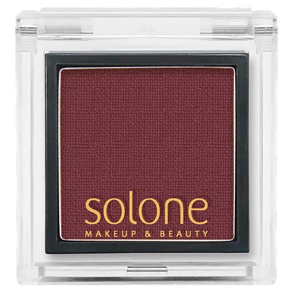 Solone單色眼影52勃根地紅 0.85g 【康是美】