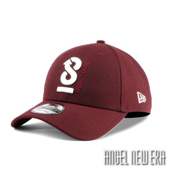 【NEW ERA】New Era 100週年 ANNIV 酒紅色 老帽 9FORTY 【ANGEL NEW ERA】