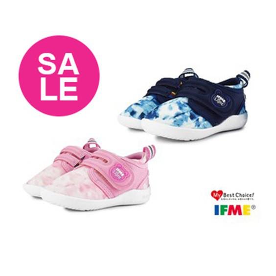 【特價出清中】日本IFME機能學步鞋 小童運動鞋 藍粉 Light超輕量系列 O7678.77 OSOME奧森鞋業