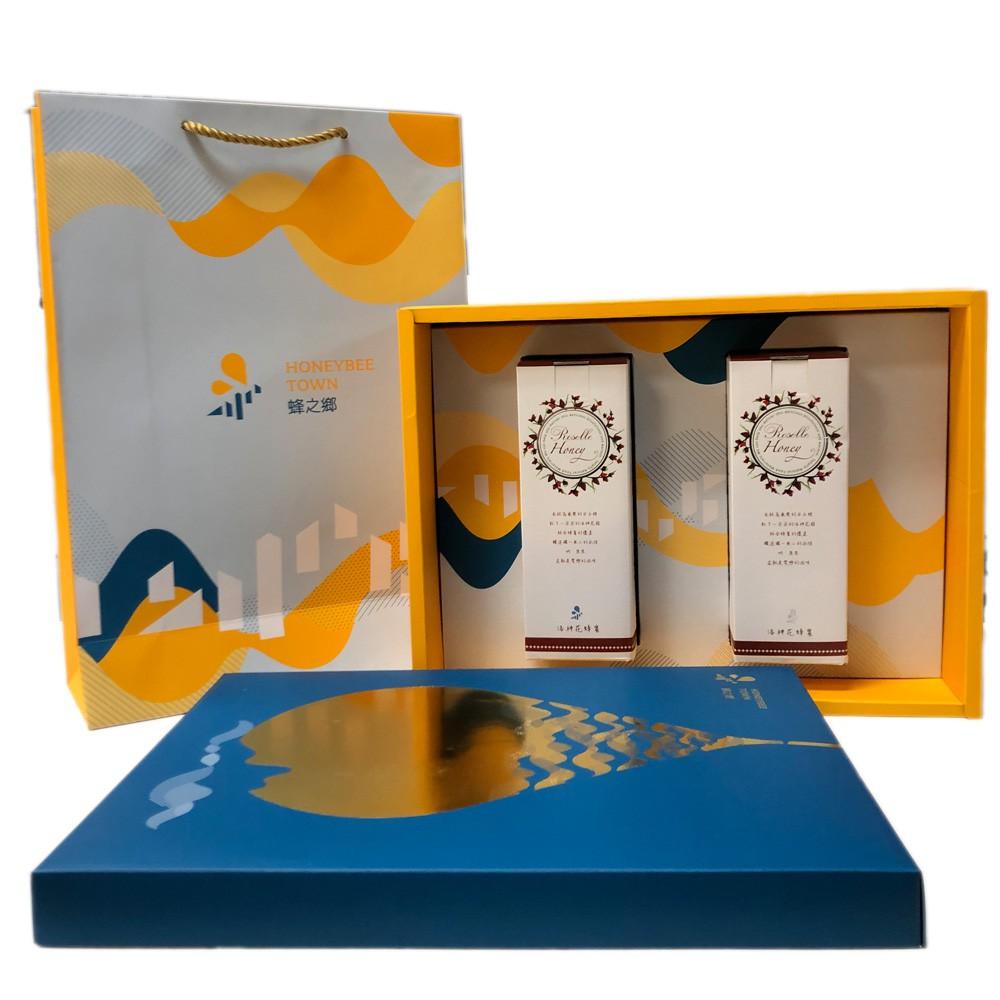蜂之鄉果汁蜜(洛神花蜂蜜)420克x2禮盒