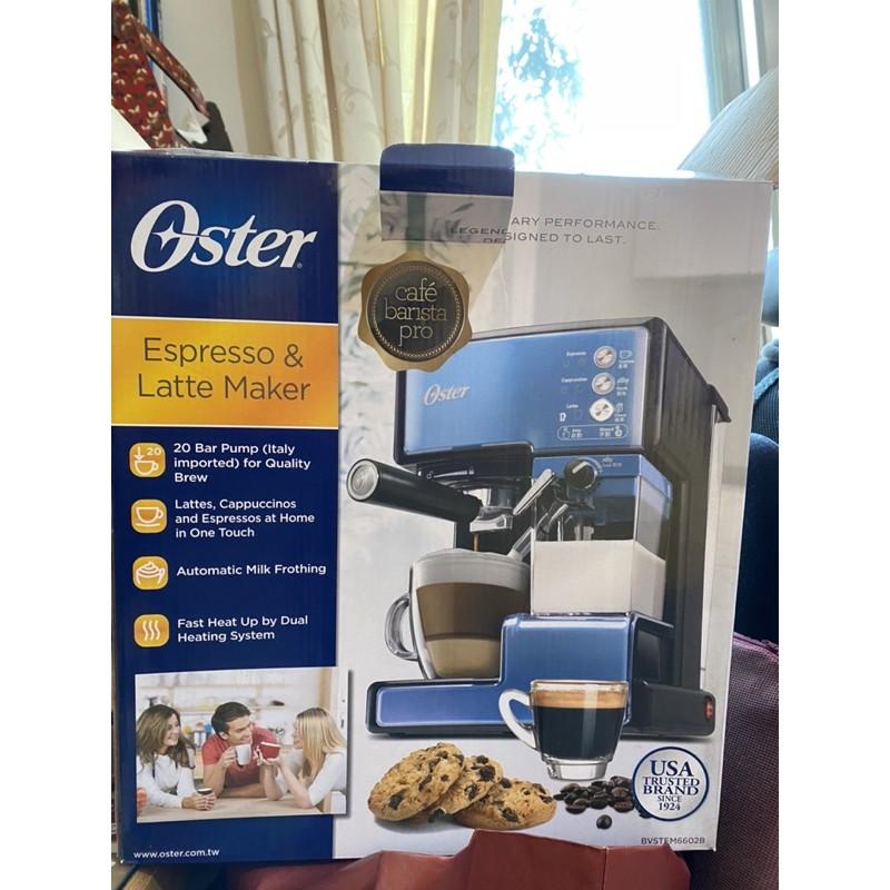(9成新二手 )美國OSTER 奶泡大師義式咖啡機 PRO