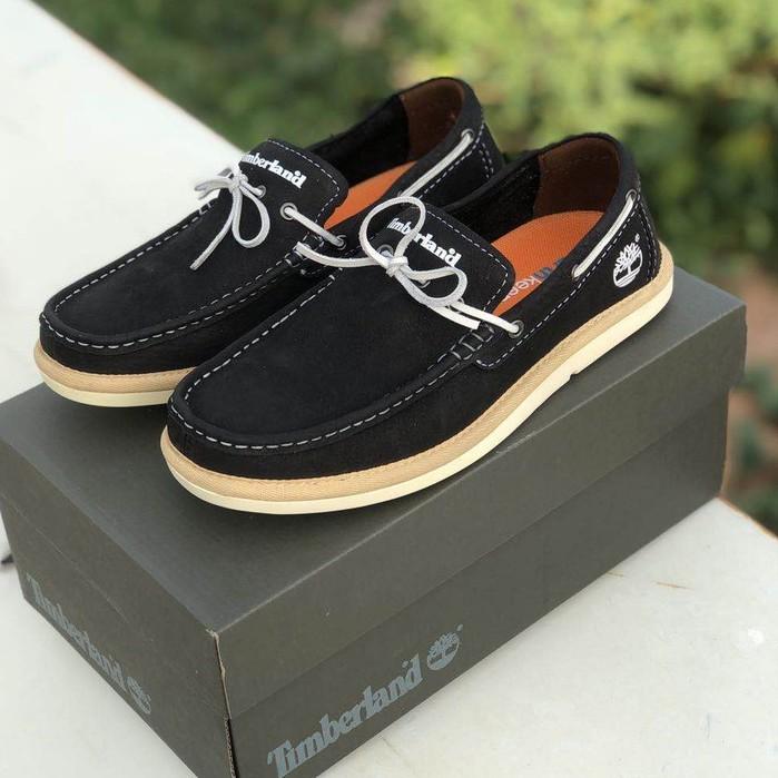 天伯倫 Timberland 2021新款 帆船鞋 輕便平底 男商務休閑鞋