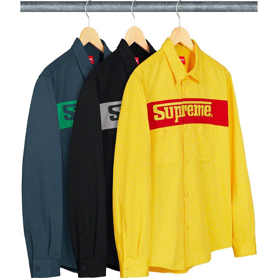 SUPREME RacingLogoWorkShirt 襯衫 [GCTC]
