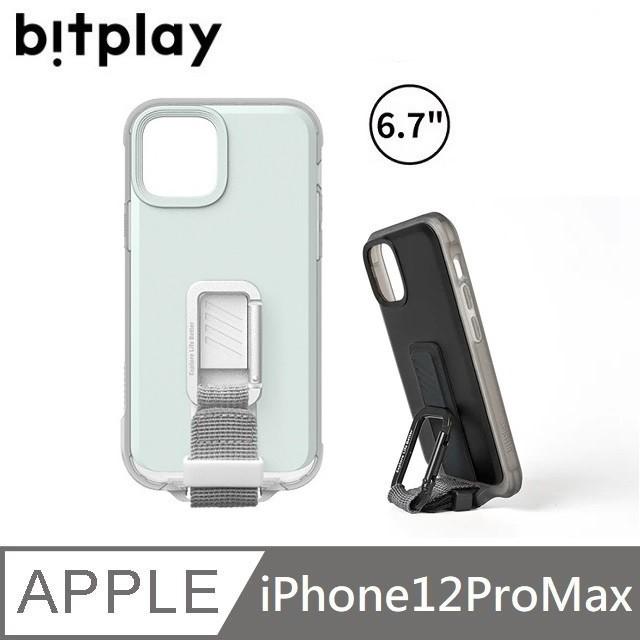 bitplay WanderCase 立扣殼 獨創自立扣環 - iPhone12ProMax -淺綠 【贈】台製滿版玻保