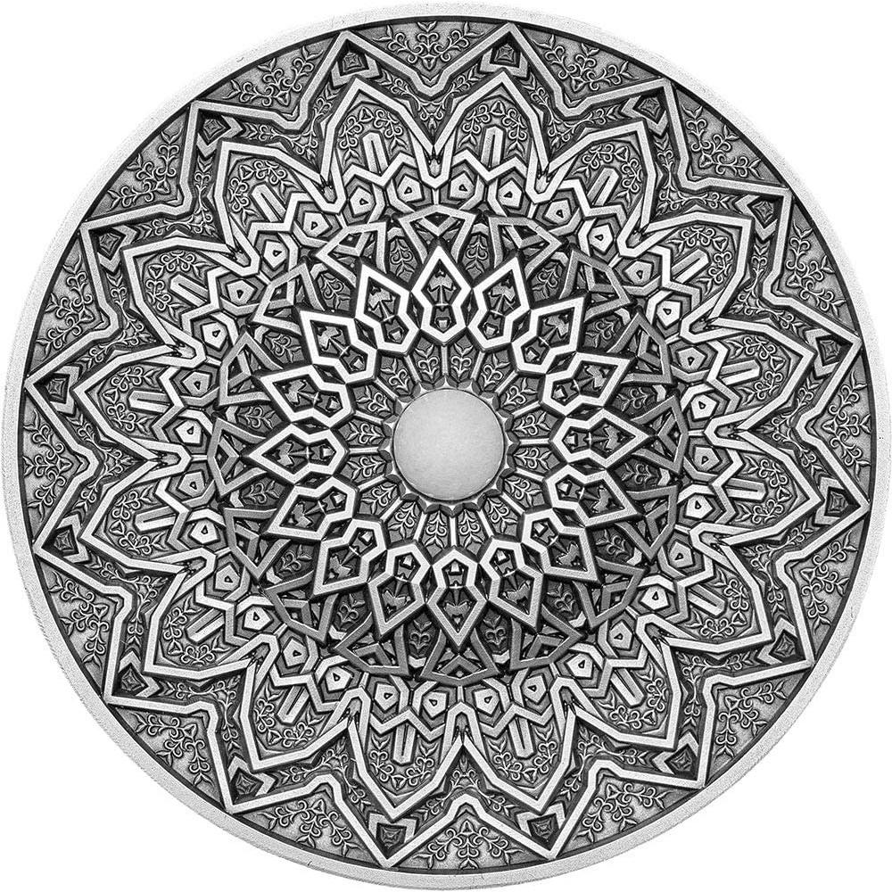 預購 - 2020斐濟-曼荼羅藝術系列-波斯-3盎司銀幣