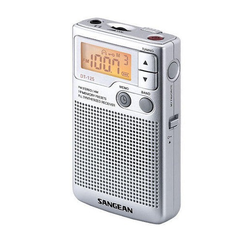 SANGEAN 山進專業二波段數位式收音機 DT125