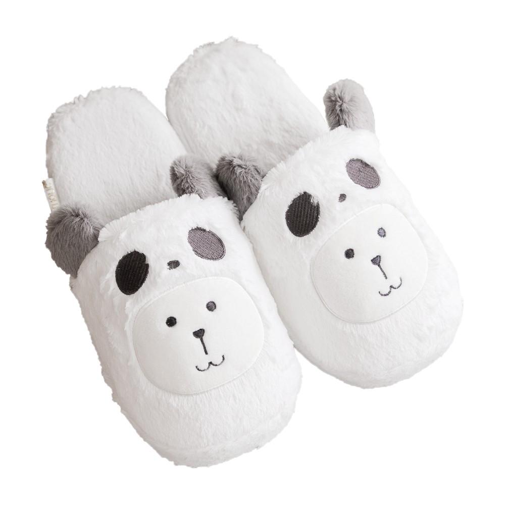 CRAFTHOLIC 宇宙人 灰熊貓兔兔室內拖鞋