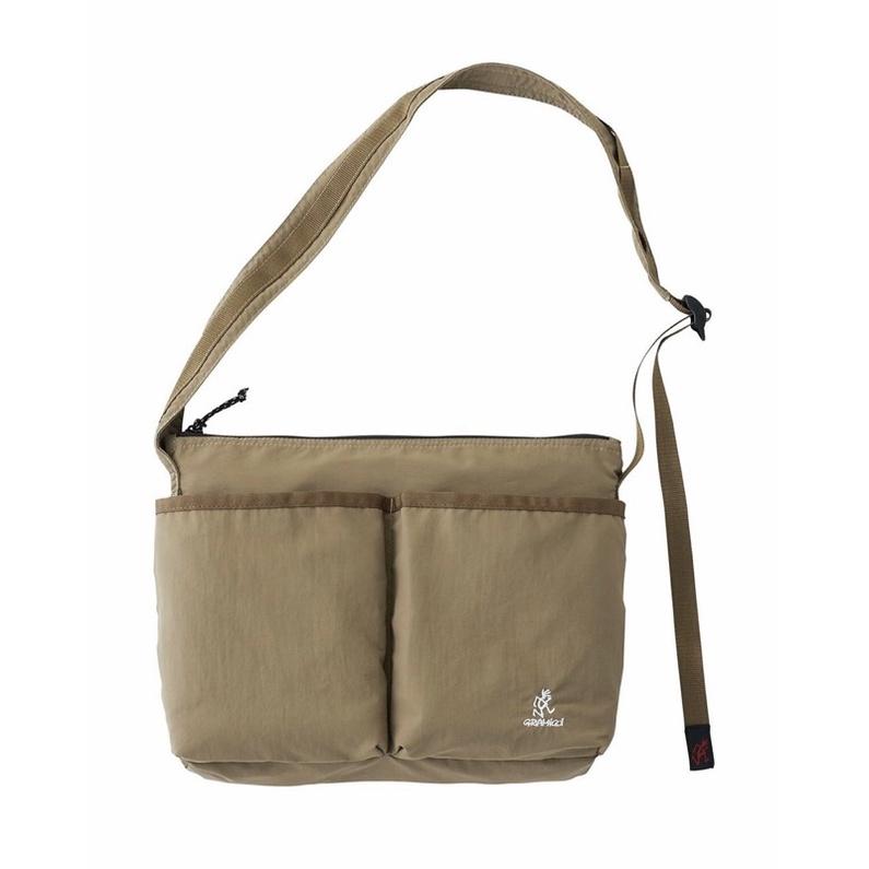 全新 gramicci bag 包 側背包 卡其 工裝 軍裝