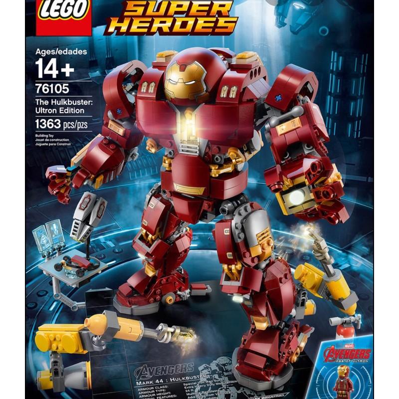 Lego 樂高 76105 浩克毀滅者機甲 全新未拆