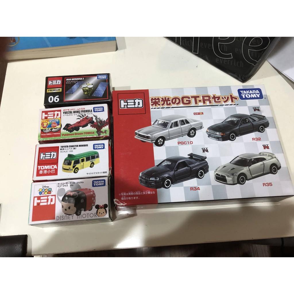 全新現貨 TOMICA 多美 迪士尼 小汽車 香港小巴 皮卡丘 榮光GTR