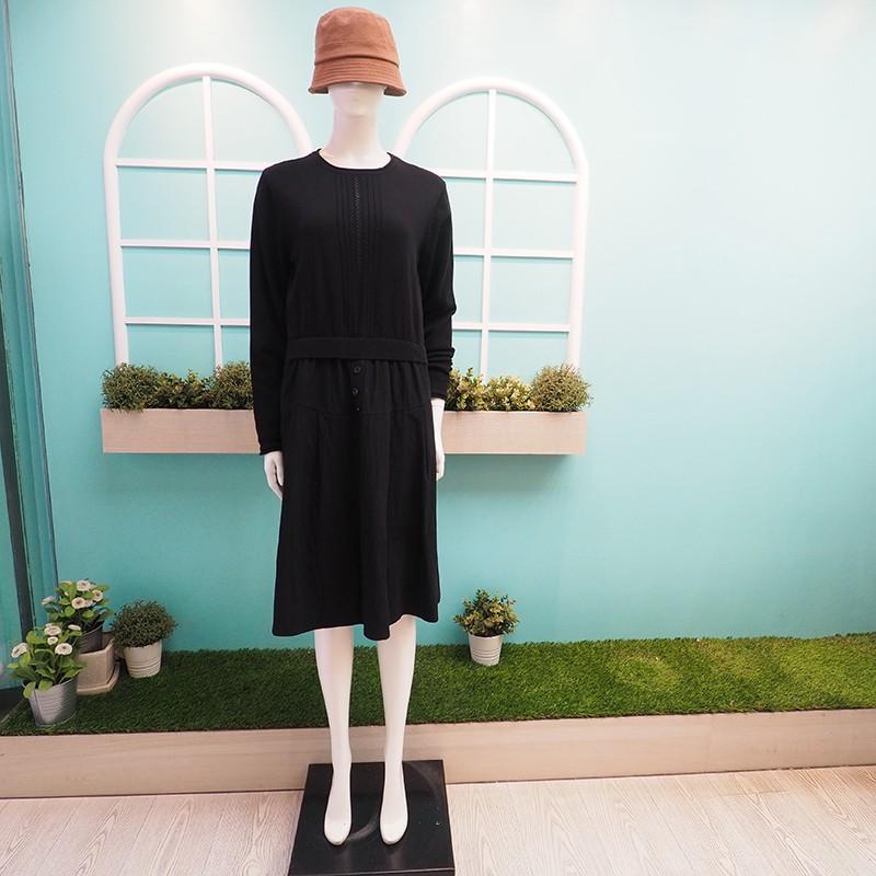 【鳳。衣美】針織配平織洋裝