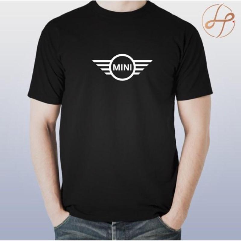 Mini Cooper Wing 100% 棉運動服男式 T 恤 Mini Cooper 方向盤 Moto Lita J