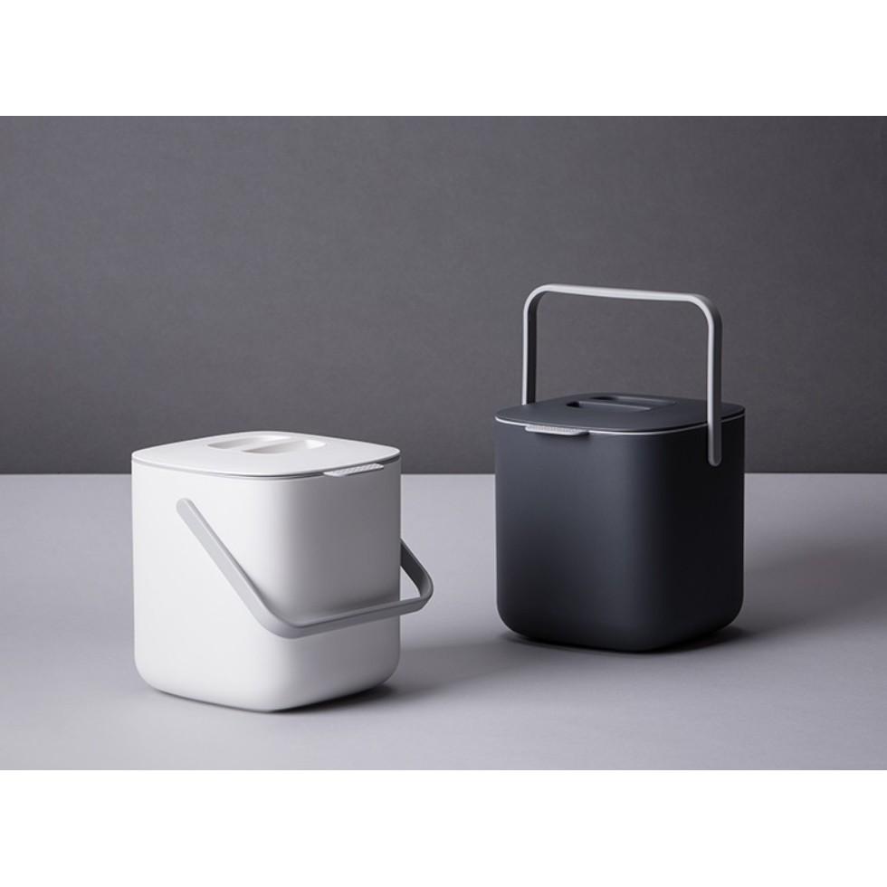 韓國 餐廚 │極簡風格 SYSMAX品牌 食物專用廚餘回收桶2.6公升