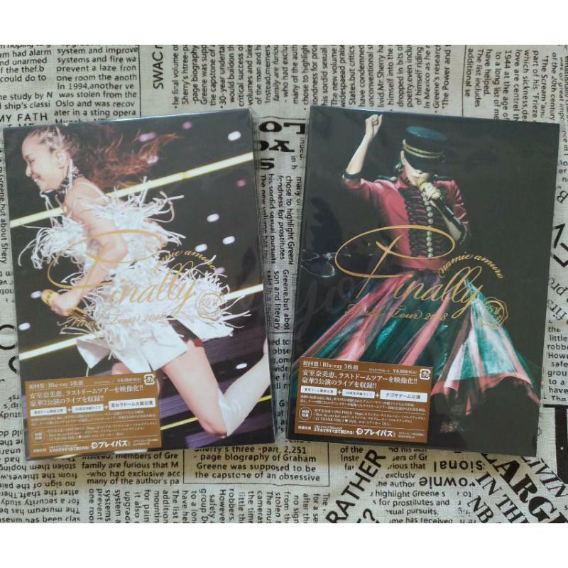 現貨✨7net安室奈美惠Finally Tour演唱會Blu-ray藍光特典資料夾+nanaco卡+氣球大阪名古屋