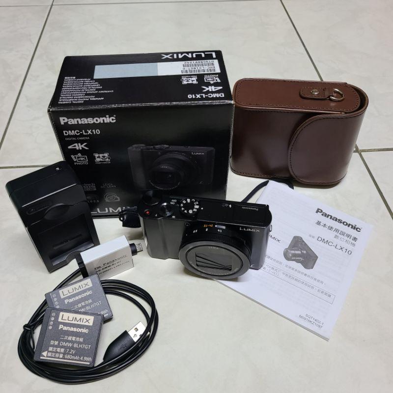 Panasonic lumix LX10 國際牌 類單眼相機 黑色 翻轉螢幕(有保護貼)