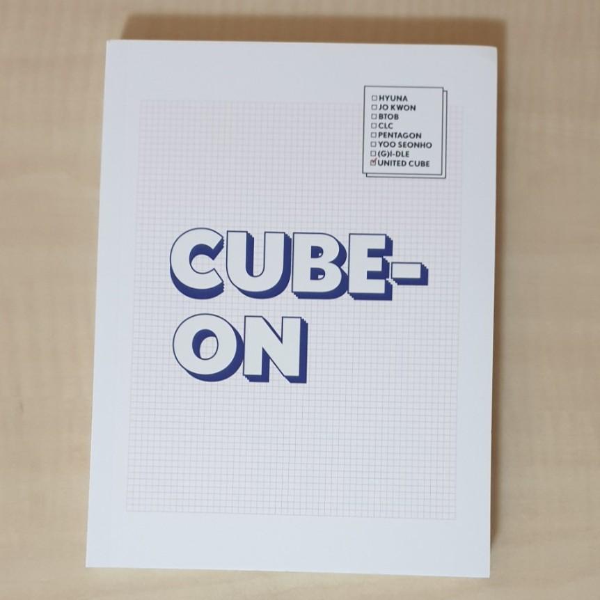 2018 CUBE演唱會寫真書 BTOB CLC PENTAGON (G)I-DLE