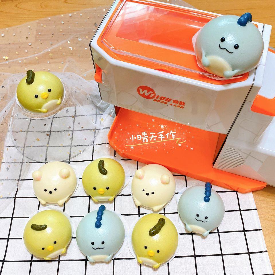 現貨在台!  威歐多功能電動壓麵機,🔮 標配🔮, 110V  可水洗, 製麵機。 造型饅頭 台灣代理商保固一年