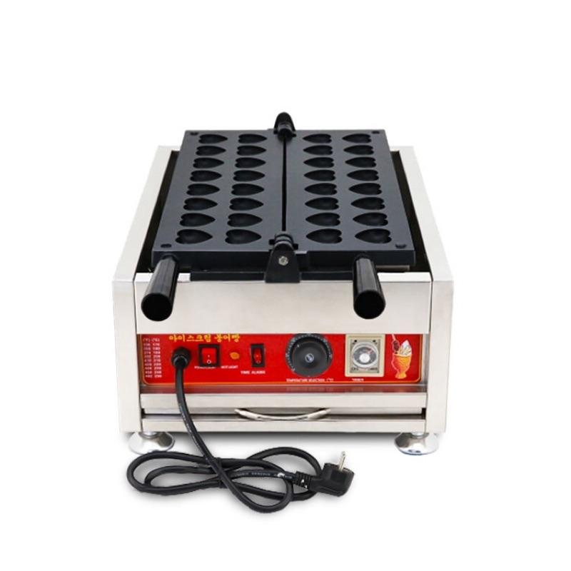 (烘培小當家)電力電子電熱式愛心表白雞蛋型雞蛋糕機雞蛋糕爐具。日式蛋糕粉奶油餡紅豆餅粉預拌粉餐飲創業小吃設備創業輔導教學