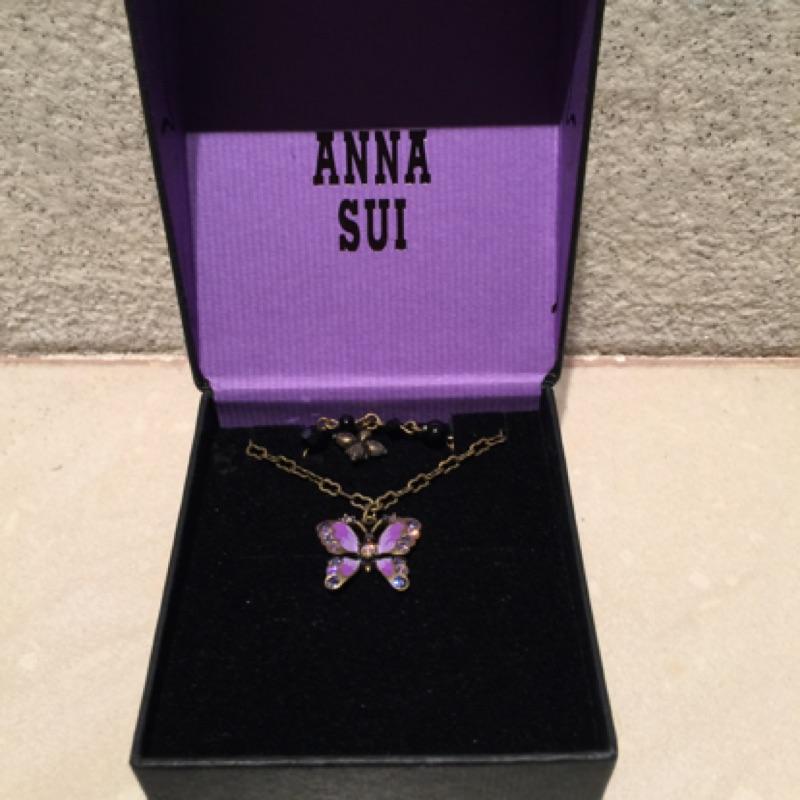 Anna sui蝴蝶項鍊