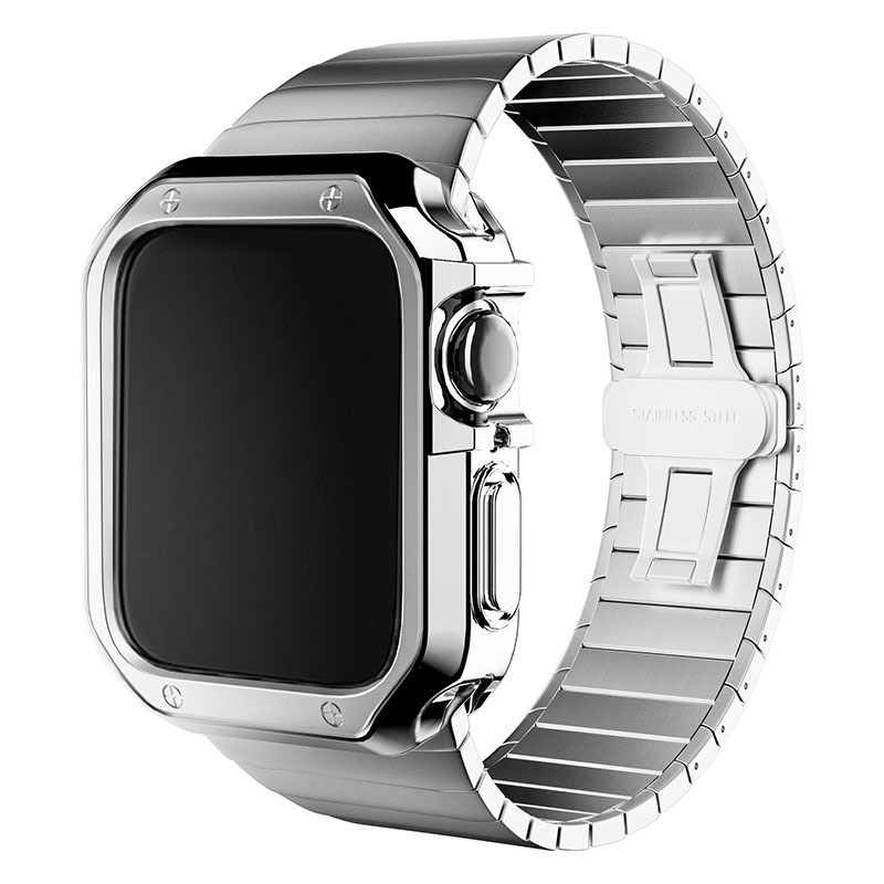 【頂級版!】Apple Watch 三珠不鏽鋼金屬錶帶 SE 6 5 4 3 2 1 40mm 42mm 44mm 38