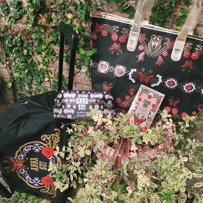 Anna Sui 波希女神系列 香水 時尚包 托特包 拉桿旅行袋 情人節 情人節禮物 新年 新年禮物