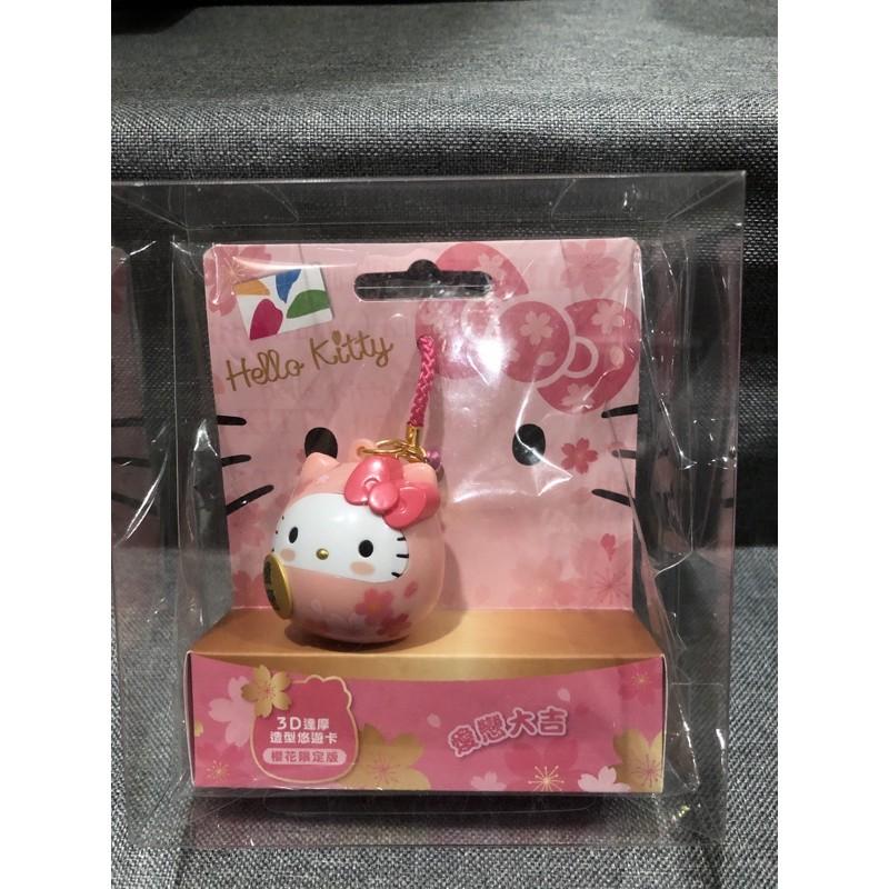 Kitty粉達摩悠遊卡
