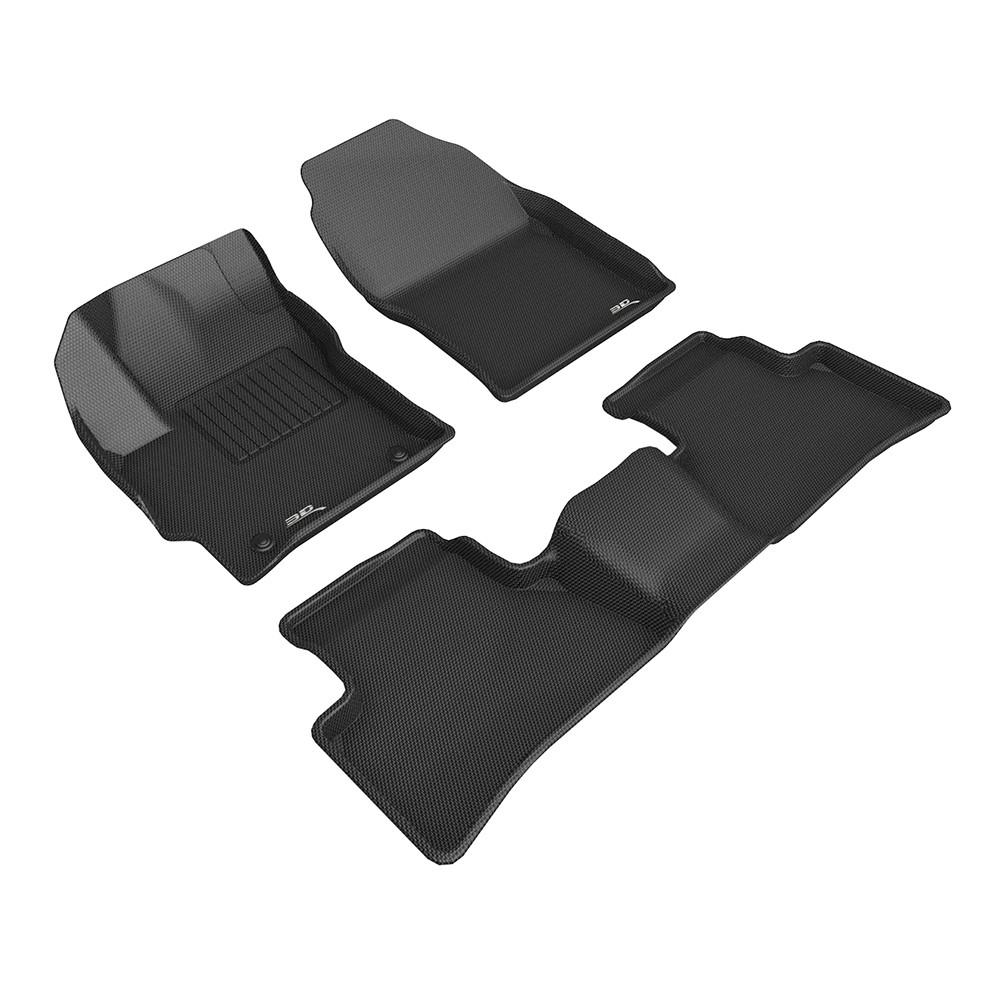 3D 卡固立體汽車踏墊 TOYOTA Corolla Cross 2021~2021(汽油版限定)