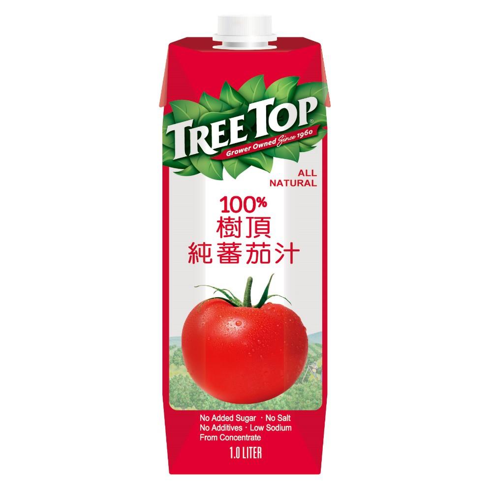 樹頂純番茄汁1000ml/1瓶、2瓶【台灣合迷雅好物商城】
