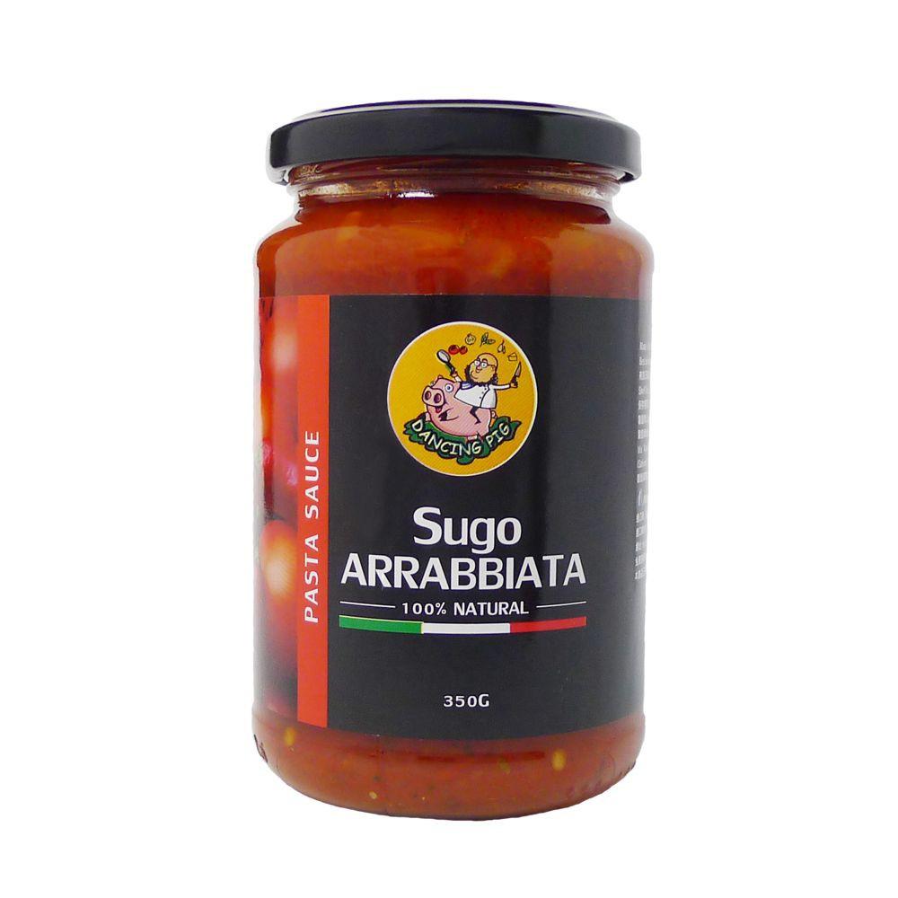 義大利 豬跳舞 辣味番茄麵醬 Dancing Pig Arrabbiata Pasta Sauce 350g