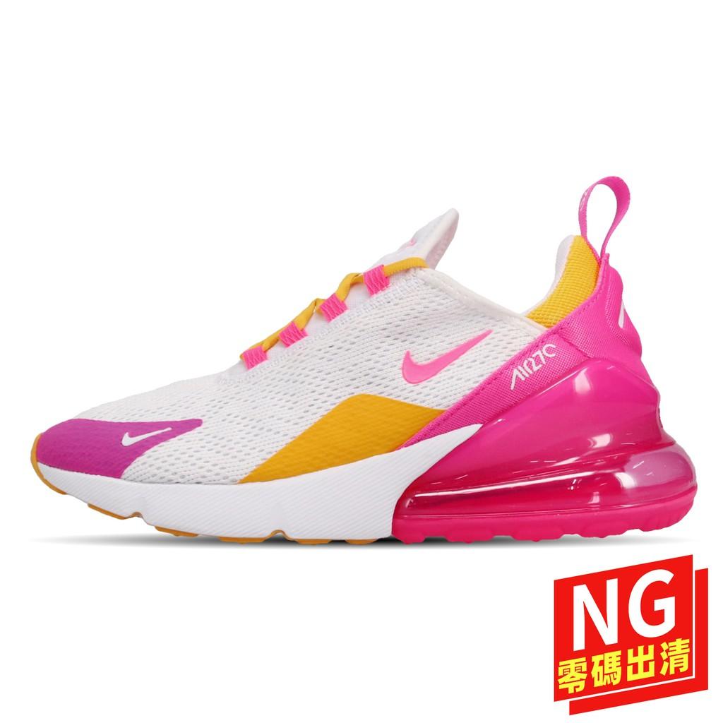 Nike Wmns Air Max 270 CI1963166 白 粉紅 女鞋 慢跑鞋【ACS】(US6)