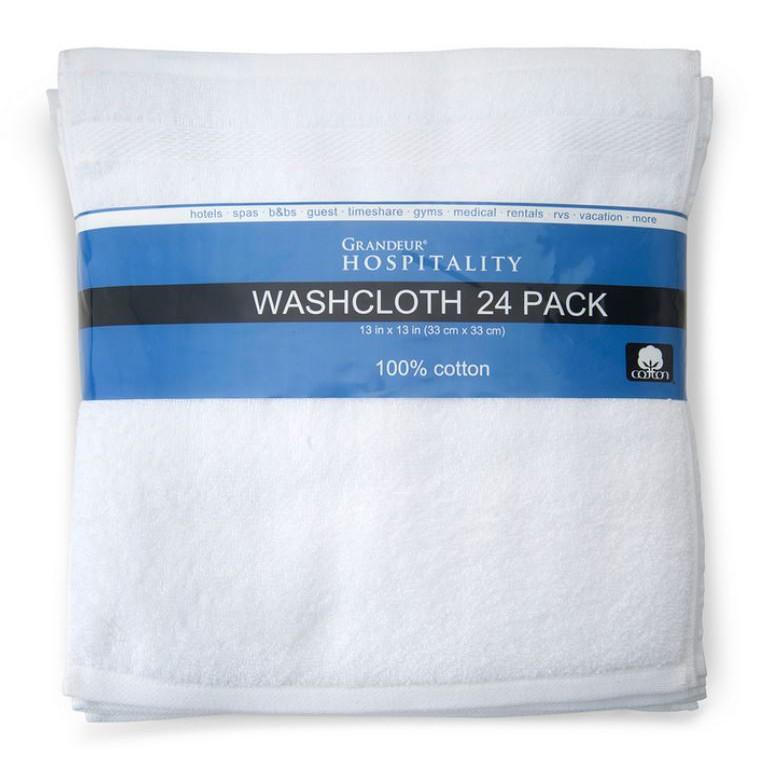 Grandeur 商用 純棉 方巾 33x33公分 小方巾 24入/組 拆售 出清 COSTCO 代購 好市多