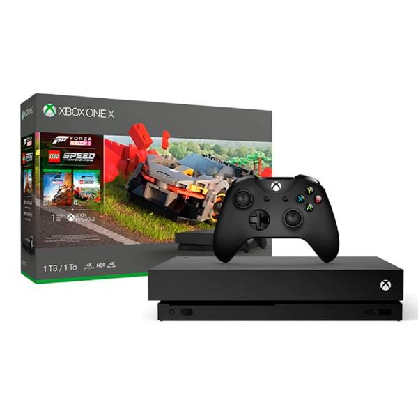 Xbox One X 樂高競速 + 地平線 4 同捆組 / 台灣公司貨【電玩國度】