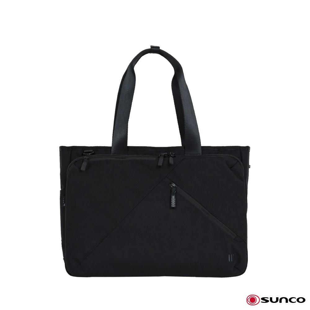 SUNCO 日本進口 超輕量電腦托特包 斜背 手提肩背包 公事包 電腦包 商務包